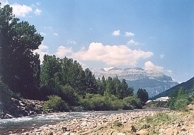 Upper Subordan river