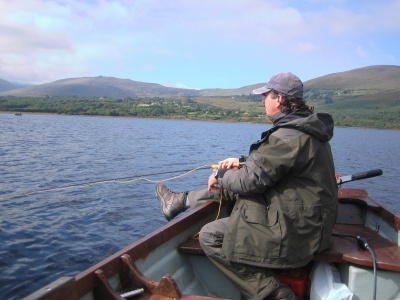 Tomas on Lough Caragh