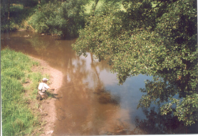 Fishing in River Doubrava